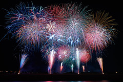 Oigawa Fireworks Display (peaceful-jp-scenery) Tags: fireworks display summer festival kanaya oigawa         sony 99 a99 slta99v amount sal1635z variosonnart1635mmf28zassm carlzeiss