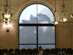Chicago, IL Chicago Cultural Center (originally the Chicago Public Library) (army.arch) Tags: chicago illinois il culturalcenter former publiclibrary centrallibrary gar grandarmyoftherepublic meetinghall historic historicpreservation nrhp nationalregister nationalregisterofhistoricplaces window jaypritzkerpavilion frankgehry gehry throughawindow