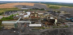 Thoresby Colliery (Sam Tait) Tags: thoresby colliery nottinghamshire edwinstowe england coal mine pit abandoned closed demolition phantom dji 3 drone uav coalfield