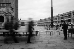 San Marco in the morning (Meine Sicht) Tags: bergischgladbach bw fotokunst leica leicam messsucher rauen sw venedig2016 vollformat blackandwhite monochrom schwarzweiss wwwrauenfotode