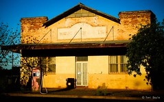 out of business (Toni Doyle) Tags: outofbusiness australia rundown old oldbulding outbacktown