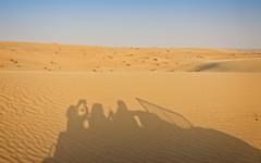 The desert and we (Tiigra) Tags: murqquab dubai unitedarabemirates ae 2013 car color landscape nature shadow