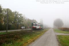 solitaria nella nebbia (FS81) Tags: aln668 tper regionale nebbia act