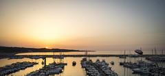 Vieste - Tramonto (Andrea di Florio (Thanks for 6,000,000 views)) Tags: andreadiflorio nikon d600 2470 28 panorama viste puglia foggia vacanza estate landscape mare sole spiaggia alba