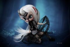 Horny (Vali.Tox.Doll) Tags: byul full custo custom obi obitsu doll jun planning groove eyes sculpt wig dark black white fc
