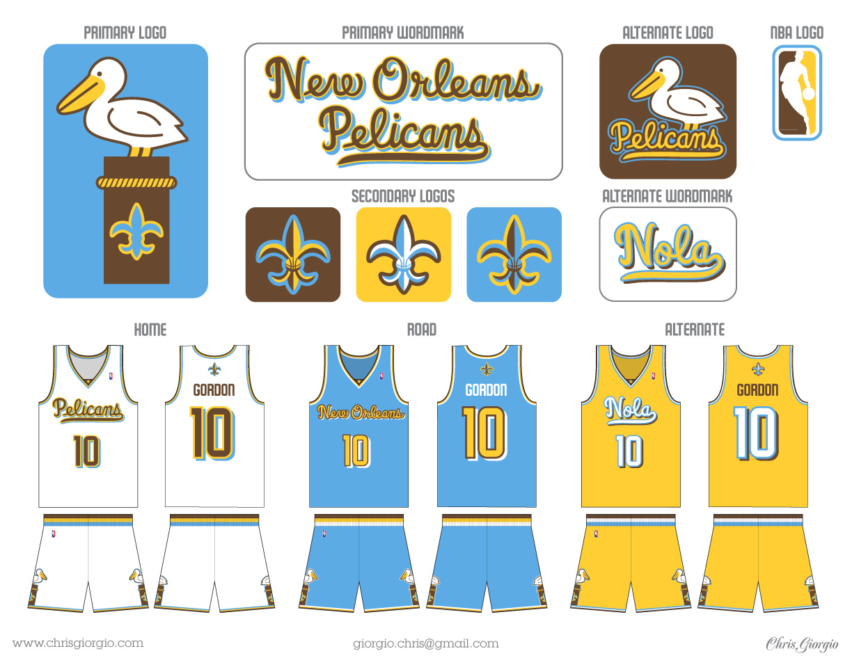 Uni Watch analyzes the new-look New Orleans Pelicans