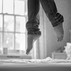 """""""You can jump anywhere, if your heart is lighthearted"""" Jump #80 of #100 (Olivia L'Estrange-Bell) Tags: blackandwhite jump jumps oliviabell oliviabellphotography 100jumps tbsart"""
