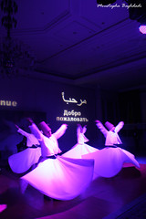 Sufi whirling or Dervish Dance (Moustapha B) Tags: camera travel digital canon turkey eos dance colorful istanbul 7d april sufi 18200 sama dervish 91 2012     icci  ciragan moustapha     bisiktas