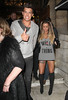 Katie Price and Leandro Penna head to Aura Nightclub with friends London, England
