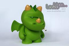 Puff 4 (Stuart Witter) Tags: dragon dragons kidrobot lowlife munny customtoy puffthemagicdragon kracka stuwitter munnyworld
