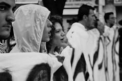 IO NON HO PAURA (-Mariada-) Tags: portrait people bw white black boys students girl nikon gente bn persone bianco ritratto nero ragazza studenti manifestazione ragazzi diritti d5000