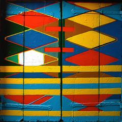 What color are you today? / Di che colore sei oggi? (Giorgio Ghezzi) Tags: abstract window finestra shutter astratto harlequin burano arlecchino imposte casabepi giorgioghezzi