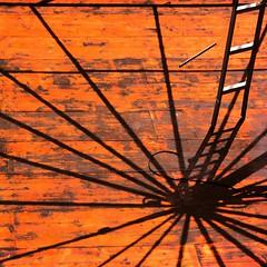 Una rotonda sul mare (meghimeg) Tags: wood shadow sun stairs square ombra working gazebo explore scala sole 2012 imperia legno quadrata incostruzione