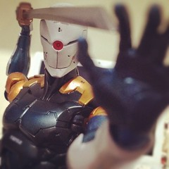 Cyborg Ninja - Grayfox - metal gear solid (sir_winger) Tags: metal play gear met solid mgs grayfox cyborgninja playartskai