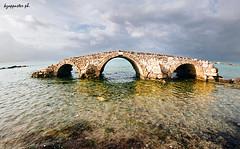 Argasi (kzappaster) Tags: bridge film fuji pentax superia 200asa fisheye fujifilm 16mm zenitar zante zakynthos ioniansea programa stonebridge superia200 kmount argasi