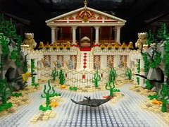 Atlantis (Brickbaron) Tags: ocean greek waves lego roman mosaic spongebob mermaids poseidon mythology vlc minifigures vancouverlegoclub brickbaron kingnepture