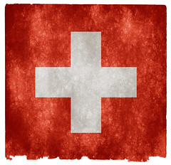 Switzerland Grunge Flag (Free Grunge Textures - www.freestock.ca) Tags: old red white texture vintage paper grey switzerland europe european cross image antique swiss background flag grunge country stock nation picture retro national page sheet aged resource textured grungy