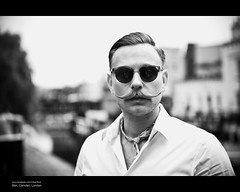 Ben, alternate portrait (The Urban Scot) Tags: portrait london canon flickr ben camden streetportrait style moustache 1940s gent camdentown urbanportrait londonmeet 100strangers urbanscot canon5dmkii june2012 pmcconnochie 100strangerslondon