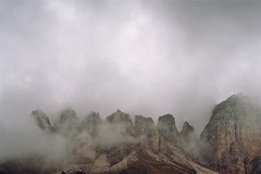 . (Careless Edition) Tags: italy mountain film nature fog analog photography nikon f65 dolomites dolomiten geisler puez