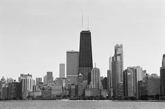 Chicago City (Jonathan Lurie) Tags: lake michigan chicago city downtown hancock skyline skyscraper urban water lakemichigan illinois unitedstates