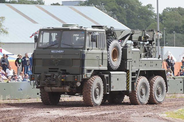 Foden Recovery vehicle