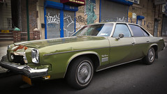 "Green Cutlass Supreme - Astoria, Queens NYC • <a style=""font-size:0.8em;"" href=""http://www.flickr.com/photos/34325628@N05/7479479898/"" target=""_blank"">View on Flickr</a>"