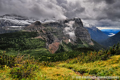 Shrouded (jlindhardt) Tags: park brown lake wall clouds photography back montana hole hiking pass continental hike glacier pack national backpacking frances divide lindhardt jlindhardt lindhardtphotography
