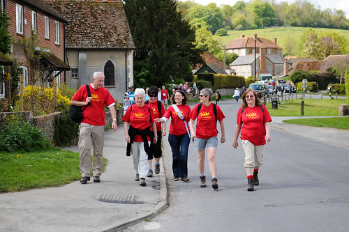 UK charity walk - Just Walk (2)