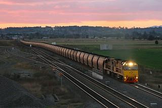Whittingham Junction sunset