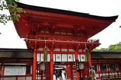 Ro-Mon Gate, Shimogamo Jinja Shrine, Kyoto /  (Kaoru Honda) Tags: street city japan landscape japanese nikon scenery kyoto traditional   kansai japon   kinki   d7000