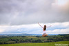 One with the Wind - Jump #88 of #100 (Olivia L'Estrange-Bell) Tags: jump jumping jumps oliviabell oliviabellphotography 100jumps 100jumpsproject 100jumpphotographs tbsart