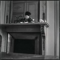 The Ritz Paris - 02 (T. Scott Carlisle) Tags: blackandwhite bw paris romance hasselblad ritz delta3200 elegance tsc tscottcarlisle tscottcarlislecom