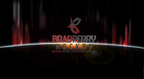 Brad Perry Hockey world logo