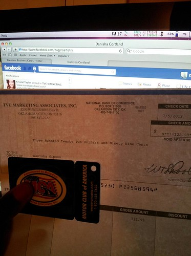 My first Check with MCA and TVC Matrix