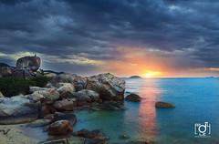 Good morning Nha Trang (Andy Le | +84908231181) Tags: new city travel blue light sea sky green rock stone night river temple islands vietnam tet yea chong hon champa hoa trang nha khanh ponagar