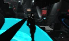 Satori (lawrence celestalis) Tags: robot sl secondlife future scifi sciencefiction android futuristic cyberpunk dystopia dystopian technopunk futurecity hangarsliquides lawrencecelestalis