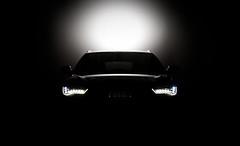 Audi A6 2012 LED (MNYFOTO) Tags: wallpaper 3 black car vw canon eos 50mm 14 automotive led 1d audi ef schwarz a6 strobe 2012 facelift mark3 pocketwizard strobist 0litre