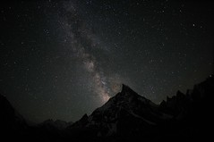 Milky Way over Mitre Peak, Karakorum (Oleg Bartunov) Tags: flickraward nikonflickraward