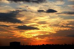 Sunset Sky - 2 (subhashish.paul) Tags: light sunset sky cloud sun india canon landscape evening bangalore canon550d me2youphotographylevel1