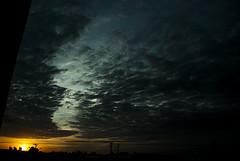 bom dia (Fabrício Marcon) Tags: sky sunrise céu amanhecer bagé