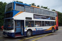 Trident Tested Recipe (Richie B.) Tags: north lancashire cumbria and depot alexander dennis stagecoach trident lillyhall mx55kre