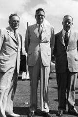 Governor Carlton Skinner Greets Congressmen