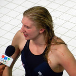 Rebecca Adlington, Swimming, Aquatics Centre, Olympic Park, Stratford, London, England, UK