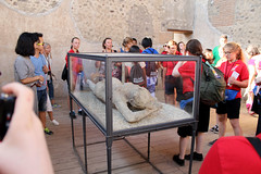 """""""Pregnant Woman"""" at Pompeii Exhibit (KHM Travel Group) Tags: etw encompass world travel italy rome bill coyle pope leaning tower pisa singing angels pregnantwoman pompeii exhibit"""
