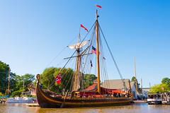 Tall Ship Draken (Paladin27) Tags: blue sailboat draken viking vikings ship tallship tall sails mast