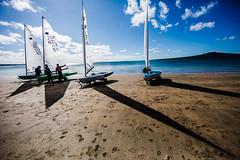 Winter Sails (ole) Tags: auckland newzealand nz devonport light shore beach sail sails silhouette sea wide