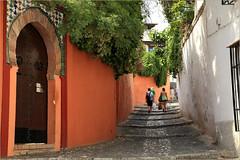 Dans l'Albayzin, Granada, Andalucia, Espana (claude lina) Tags: claudelina espana spain espagne andalucia andalousie granada grenade ville town albayzin