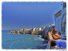 La Costa di Polignano (triziofrancesco) Tags: sea sky italy costa coast rocks italia mare cielo rocce puglia polignanoamare