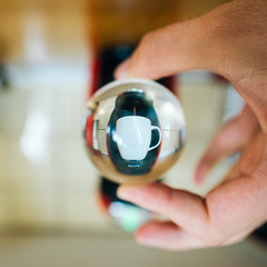 It's all about perspective (ekidreki) Tags: nikon df nikkor 20 20mm 20mm18g prime fast lens primelens perspective glass ball glassball