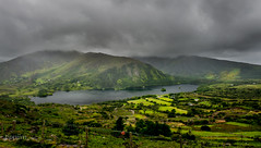 Glanmore Lake (tippjim) Tags: lakes landscape tippjim cork healypass beara ireland clouds